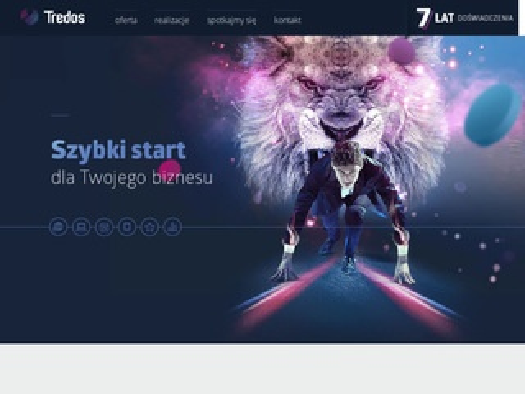 Tredos.info - projektowanie stron Poznań