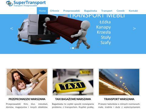 Transportwawa.eu przewóz mebli