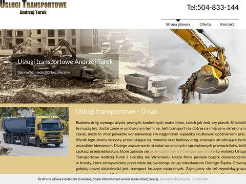 Transportkruszyw-wroclaw.com.pl Andrzej Turek
