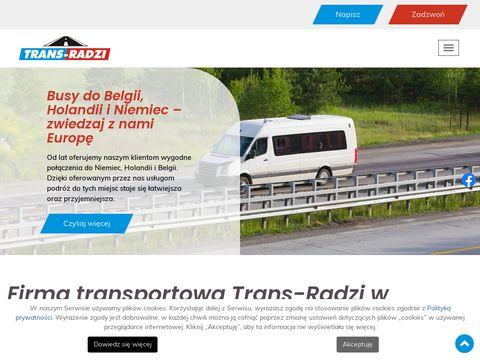 Trans-radzi.pl busy do Holandii Niemiec Belgii