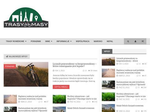 TrasyMasy.pl - blog rowerowy