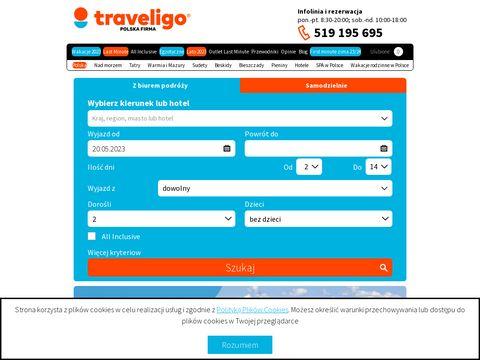TraveliGo.pl - wakacje all inclusive