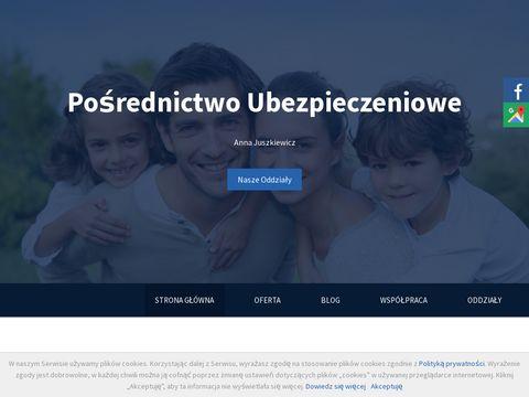 Ubezpieczenia-juszkiewicz.pl