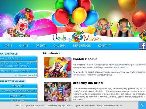 Urodzinymarzen.pl - Imprezy dla dzieci
