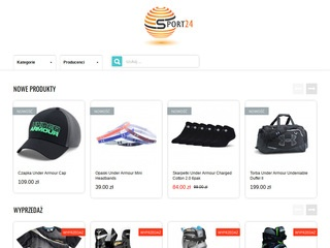 Uprawiajsport24.pl - rolki sklep