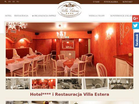 Villaestera.pl restauracje