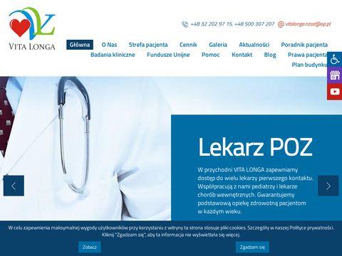 Vitalonga-nzoz.pl lekarz psychiatria Katowice