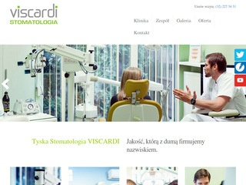 Viscardi - stomatologia estetyczna