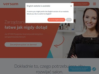 Versum.pl - spa software