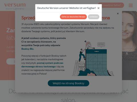 Versum.pl - spa software