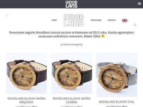 Woodlans.pl zegarki z drewna