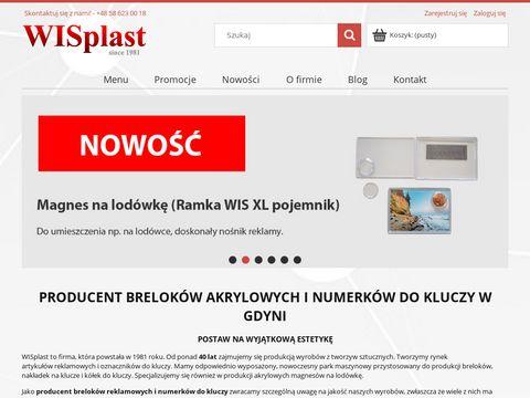 Wisplast.pl breloczki do kluczy