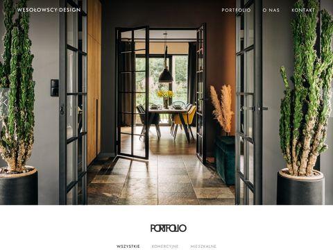 Wesolowscy-design.pl projektowanie wnętrz Łódź