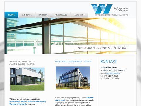 Waspal okiennice Poznań