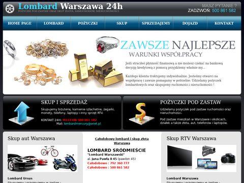 Warszawski-lombard.pl - pożyczki pod zastaw