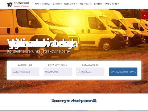 Transpost SA wynajem aut osobowych