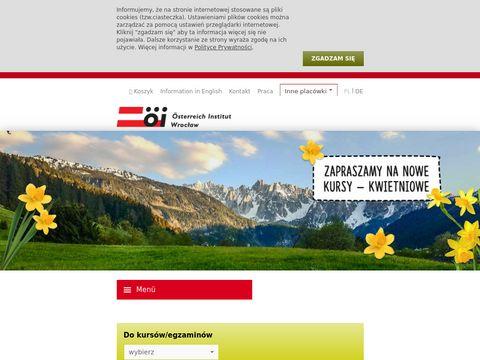 Austriacki Instytut kursy niemieckiego