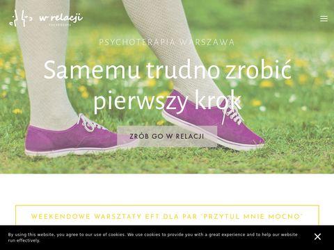 Wrelacji.pl psychoterapia Warszawa