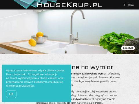 Housekrup.pl lacobel szkło z grafiką