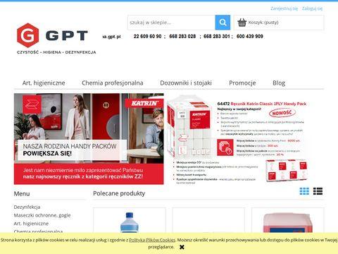 Higienagpt.pl wózki hotelowe