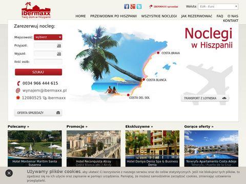 Hiszpania-apartamenty.pl Noclegi w Hiszpanii