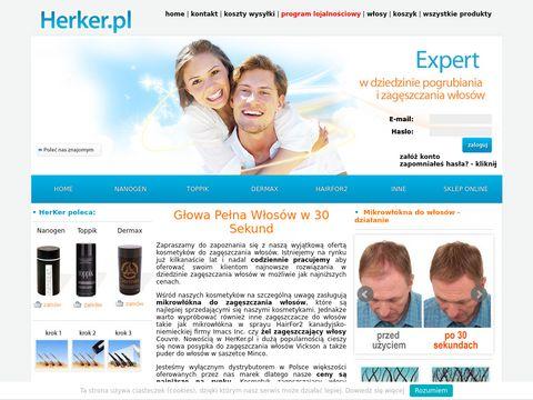 Herker.pl wypadanie włosów
