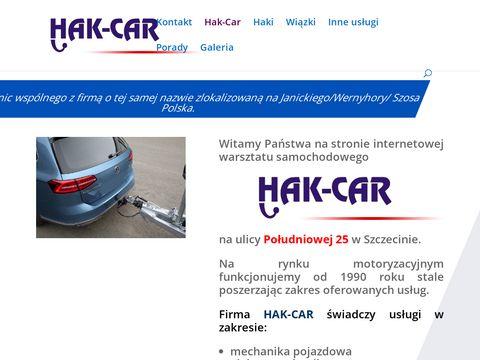 Hak-Car sprzedaż haków Szczecin
