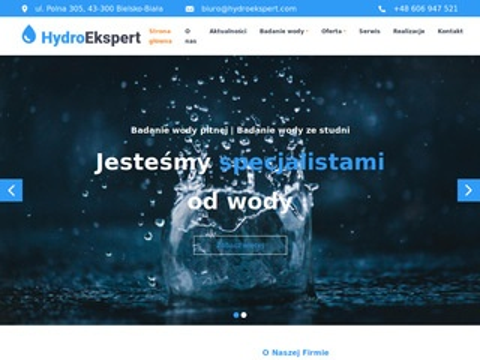 Hydroekspert.com serwis urządzeń uzdatniających