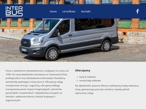 Inter-bus.eu Szczecin wynajem busów