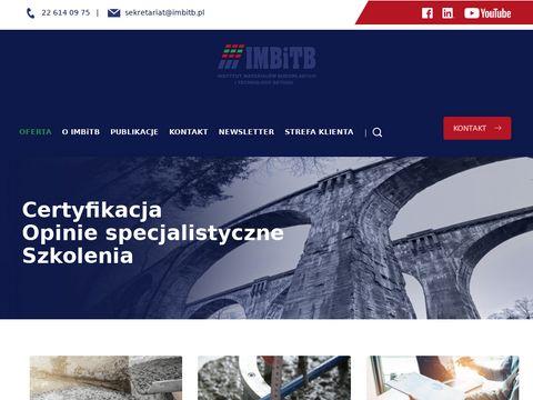 IMBiTB zakładowa kontrola produkcji