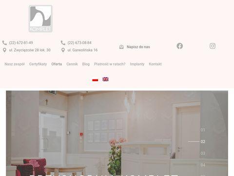 Implanty-komplet.pl - protetyka Warszawa
