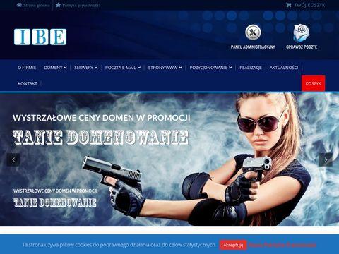 Ibe.pl - strony internetowe Warszawa