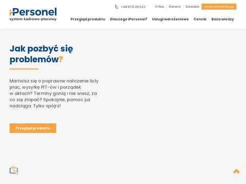 Ipersonel.pl oprogramowanie dla hr