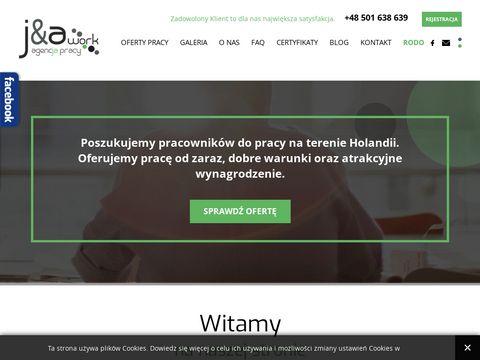 Jnawork.pl - praca Holandia bez języka