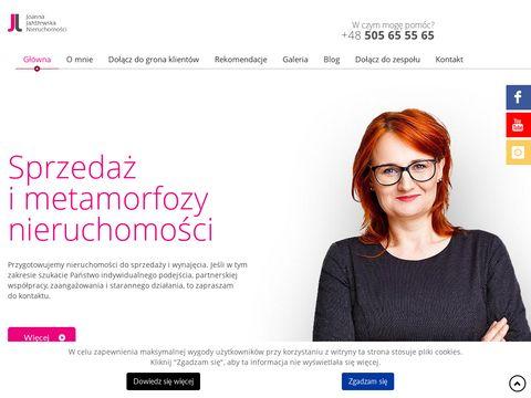 Joannajazdzewska.pl nieruchomości