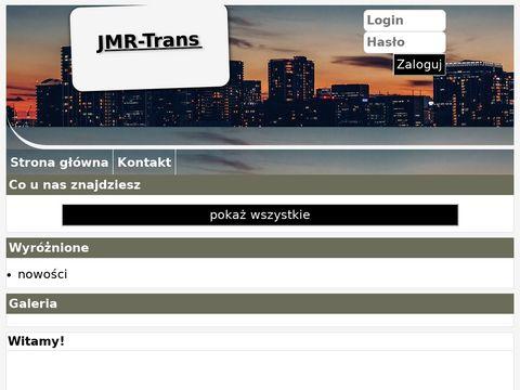JMR-Trans wynajem kruszarek Warszawa