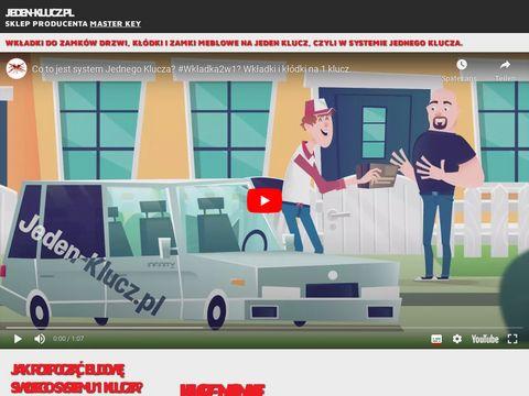 Jeden-klucz.pl system 1 klucza