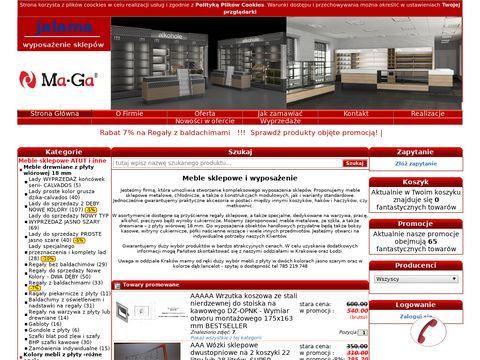 Jalama.pl - wyposażenie sklepowe