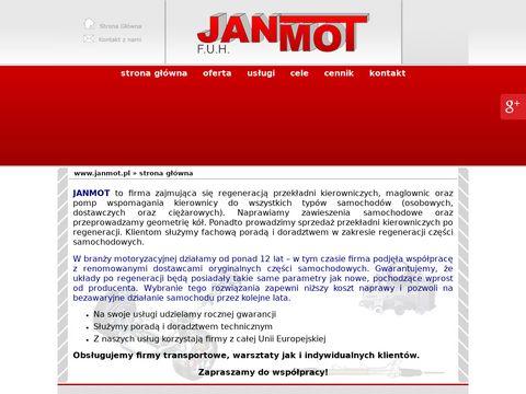Janmot Głogowo przekładnie kierownicze