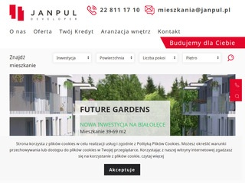 Janpul.pl deweloper mieszkania Warszawa