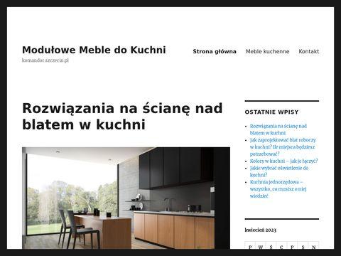 Komandor.szczecin.pl zabudowy wnętrz