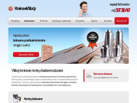 Kominowewklady.pl - kominy stalowe
