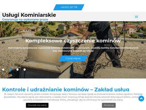 Kominiarz.biz.pl czyszczenie kominów