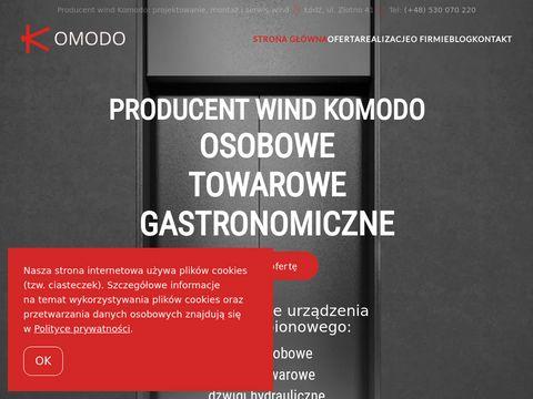 Komodo-windy.pl montaż i serwis
