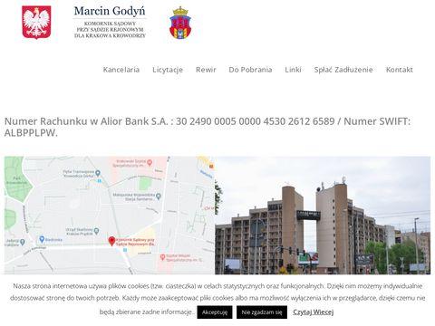 Marcin Godyń Komornik sądowy