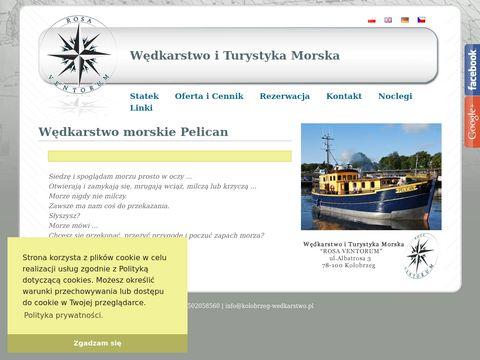 Rosa Ventorum Rejsy wędkarskie Kołobrzeg