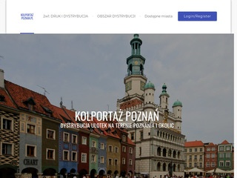 Kolportaz-poznan.pl ulotek