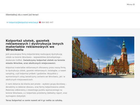 Kolportaz-wroclaw.pl ulotek