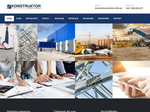 Konstruktor - projektowanie hal