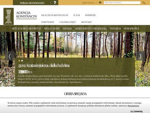 Agencja Konstancin sp. z o. o. pałace